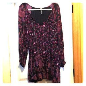 Free People Purple Dress/tunic.